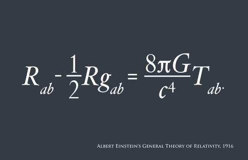 Photo Credit; mappingignorance.org The Gravitational Force follows such equations according to the work of Einstein and are called as General Relativity Theory. The equation here describes the detailed behavior of the gravitational force and energy fields in terms of field vectors and tensors.