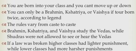 The Caste Law: photo credit; danigrose, slideshare dot net