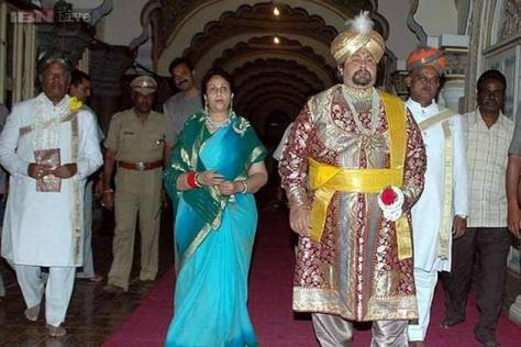 Mysore's Royal Scion, Srikantadutta Wodeyar passed away.
