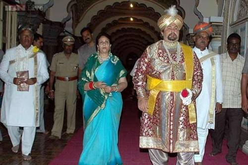 Mysore's Royal Scion, Srikantadutta Wodeyar passed away.