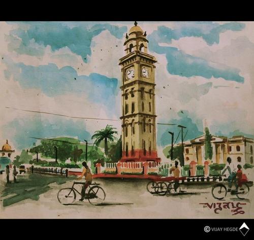 Art work by Vijay Hegde, Mysore city, LM4