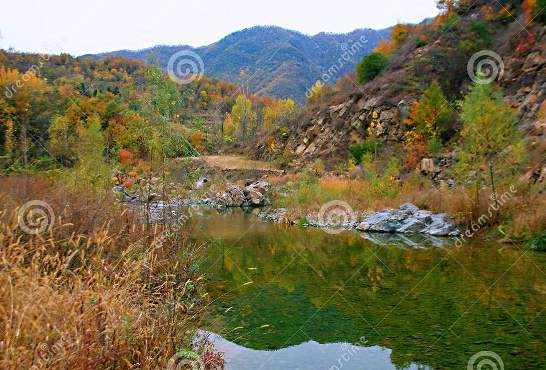 Wildly beautiful West Taishan, Ruyang. Particle Physics is similar, undiscovered in some of its aspects and yet promises the beauty of virgin nature. West Taishan is located in the hinterland of the Funiu Mountain, 52 kilometers south of Ruyang County, Henan province. Photo-Credit: dreamstime dot com