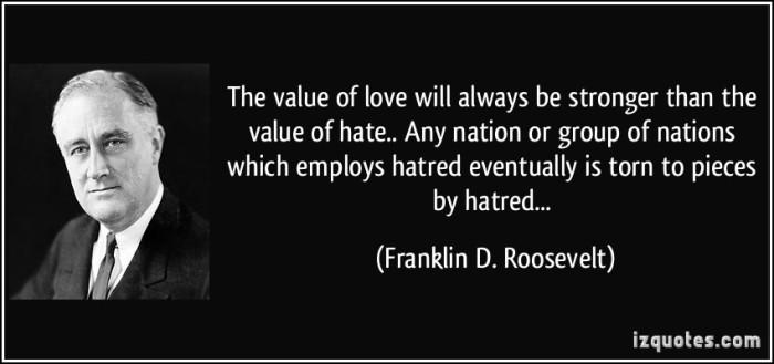 Roosevelt Speaks.  Photo Credit; izquotes.com