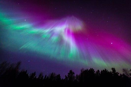 Aurora Borealis or Northern Lights at Ireland. Photo Credit; www.slate.com